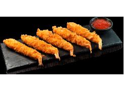 H18. Tempura crevettes (5 pièces)