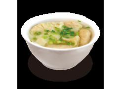 P3. Potage raviolis chinois