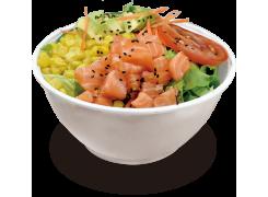 SC2. Salade crudité au saumon