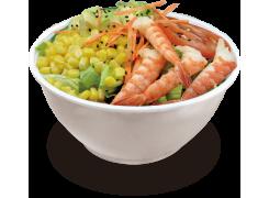 SC3.. Salade crudité aux crevettes