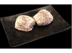 D4A. Perles de coco choco(2pcs)